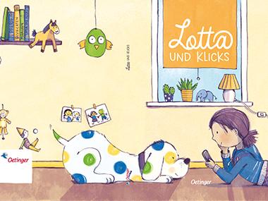 Lotta und Klicks Buchdeckel